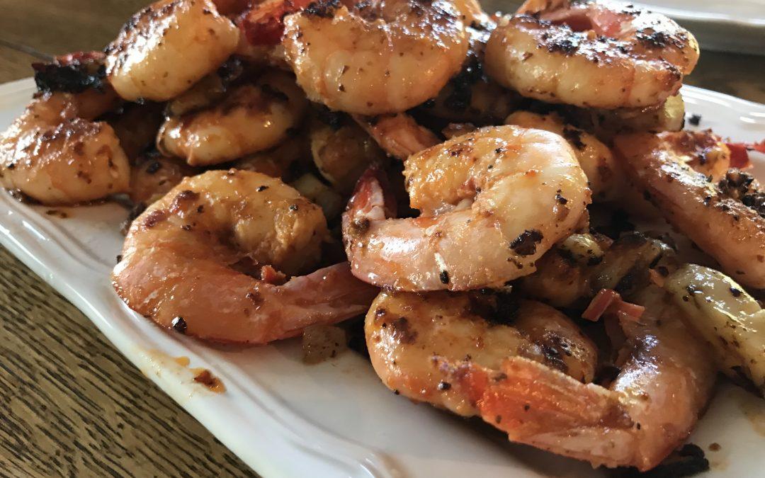 Natalia's Garlicky Shrimp