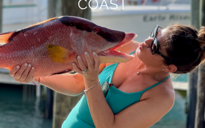 Florida's Gulf Coast – Natalia Finds Local Catch! Makes Whole Roasted Hog Fish…