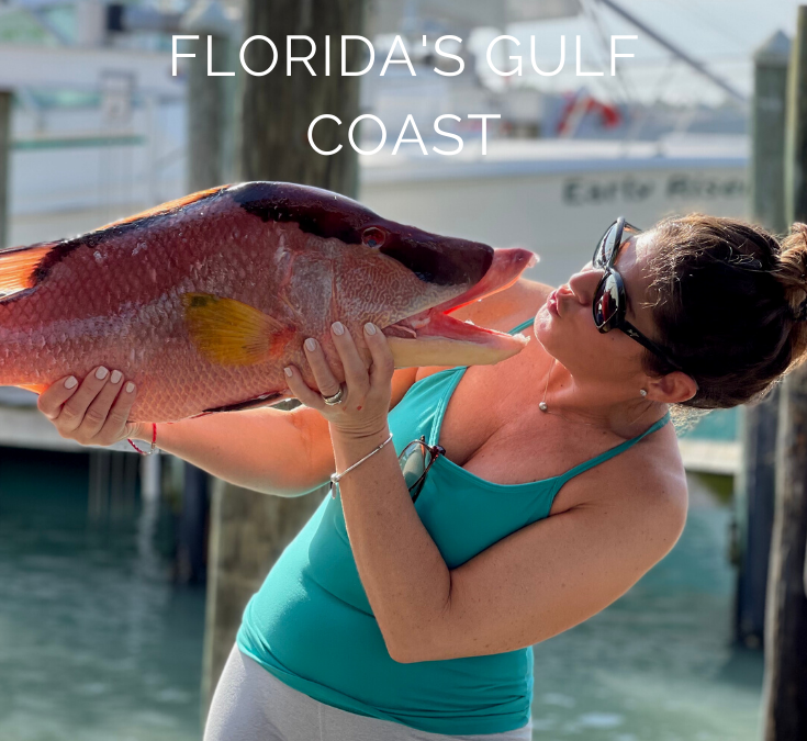 Florida's Gulf Coast – Natalia Finds Local Catch! Makes Whole Roasted Hog Fish…